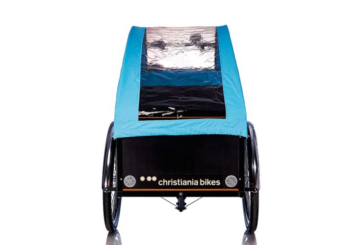 Bugatti Panorama kaleche i blå til Christiania bikes ladcykel