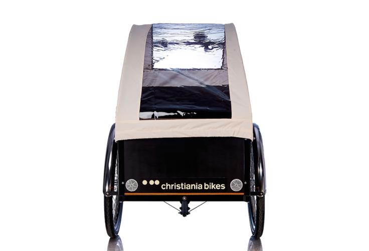 Bugatti Panorama kaleche i creme til Christiania bikes ladcykel